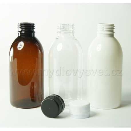 PET lahvička 200 ml + uzávěr pr. 28mm