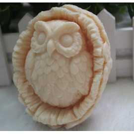 Silikonová forma na mýdlo sova II.