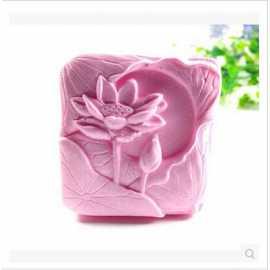 Silikonová forma na mýdlo lotus