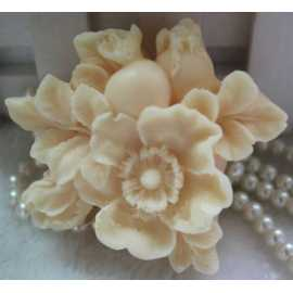 Silikonová forma na mýdlo šípové růže