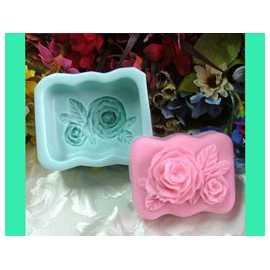 Silikonová forma na mýdlo dvě růže