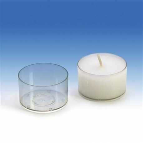 Polykarbonátová forma na čajovou svíčku kruh střední