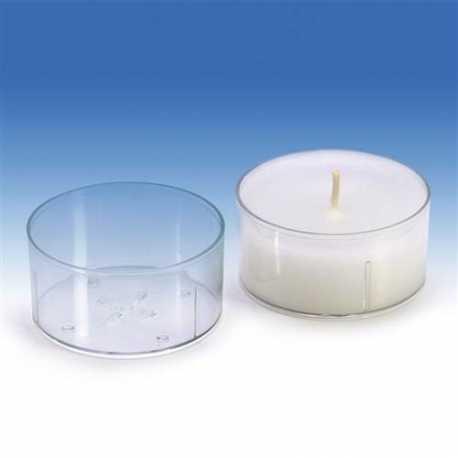 Polykarbonátová forma na čajovou svíčku kruh velký