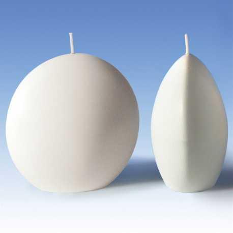 Polykarbonátová forma na svíčku disk 10,5x5,6x10cm