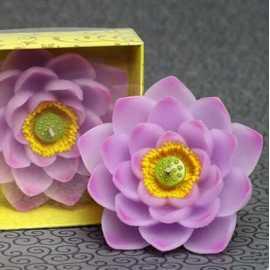 Silikonová forma na mýdlo a svíčku chryzantéma