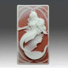 Silikonová forma na mýdlo mořská panna IV.