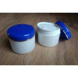 Kosmetická dóza - modré víčko 50ml