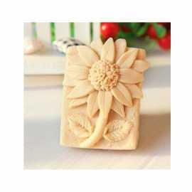 Silikonová forma na mýdlo květy VIII.
