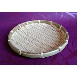 Bambusový tácek kruh pr. 20 cm