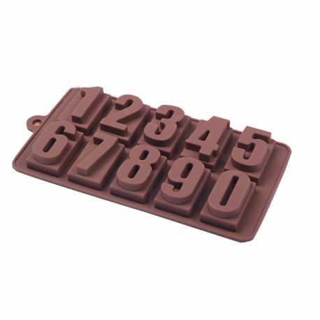 Silikonová forma na mýdlo abeceda a číslice