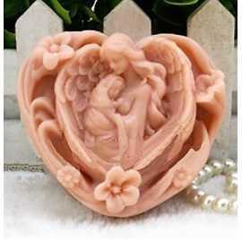 Silikonová forma na mýdlo matka a dítě VI.