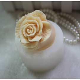 Silikonová forma na mýdlo a svíčku 3D růže VIII.