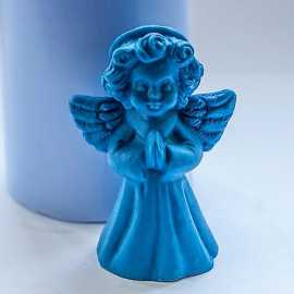 Silikonová forma na mýdlo a svíčku 3D andílek I.