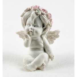 Silikonová forma na mýdlo a svíčku 3D andílek holčička II.