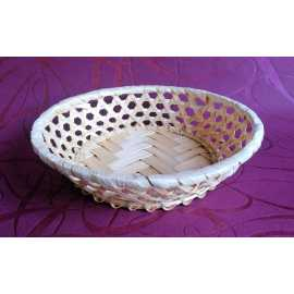 Bambusová miska kruh pr. 15 cm