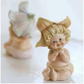 Silikonová forma na mýdlo a svíčku 3D holčička