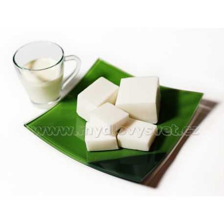 Mýdlová hmota s oslím mlékem 0,5kg