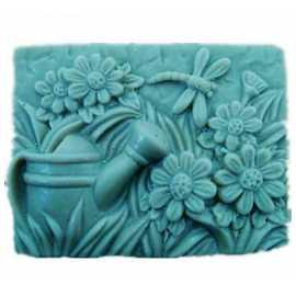 Silikonová forma na mýdlo kytičková vanička I.