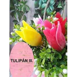 Silikonová forma na mýdlo a svíčku tulipán II.