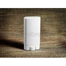 Vysouvací tuba na tuhý deodorant BÍLÁ