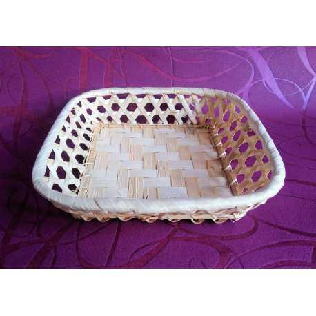 Bambusová miska obdélník