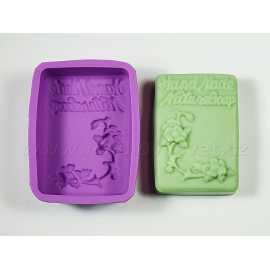 Silikonová forma na mýdlo HAND MADE NATURE SOAP