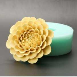 Silikonová forma na mýdlo a svíčku 3D květ II.