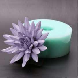 Silikonová forma na mýdlo a svíčku 3D květ III.
