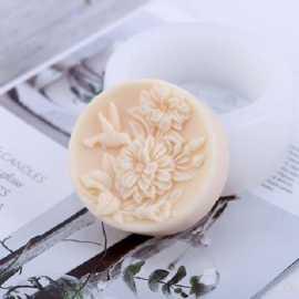Silikonová forma na mýdlo kolibřík II.