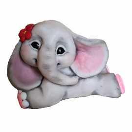 Silikonová forma na mýdlo a svíčku 3D plyšový králíček