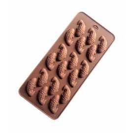 Silikonová forma na mýdlo malé rybky - 18ks