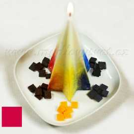 Barva na svíčky - červená karmínová 5g