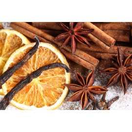 Vanilka + pomeranč + skořice - antialergický - parfémová kompozice 10ml