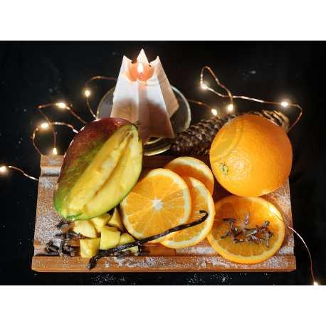 Pomeranč + mango + vanilka + hřebíček - parfémová kompozice 200ml
