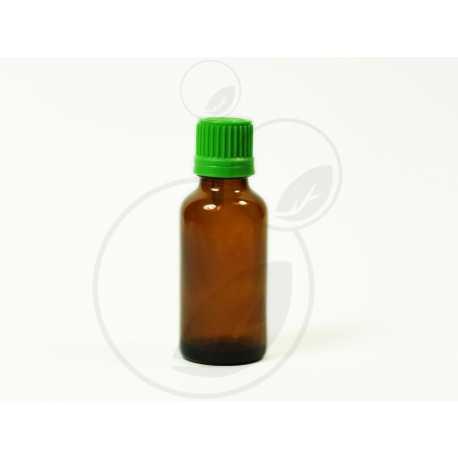 Skleněná lahvička 30 ml + uzávěr s kapátkem
