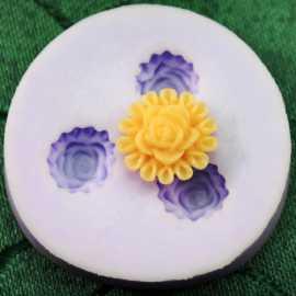 Silikonová miniformička květy II.