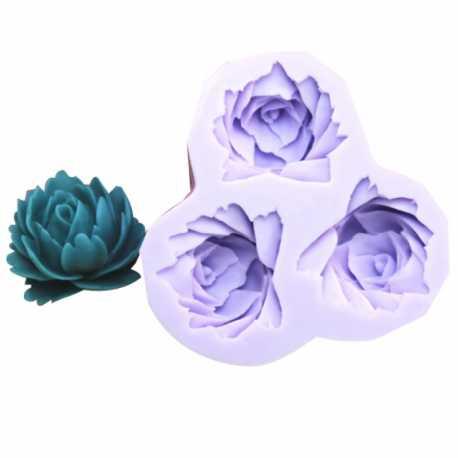 Silikonová miniformička květy I.