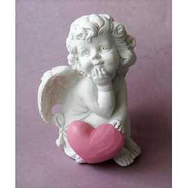 Silikonová forma na mýdlo a svíčku 3D andílek holčička III.