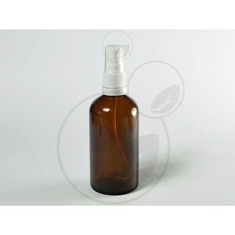 Skleněná lahvička 100ml + rozprašovač s pojistkou originality