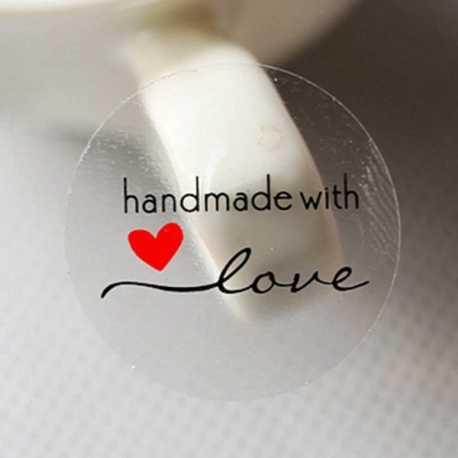 Samolepky HAND MADE XXIII.- 12ks