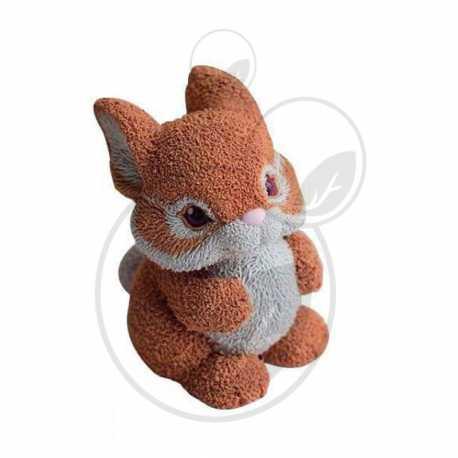 Silikonová forma na mýdlo a svíčku 3D králíček