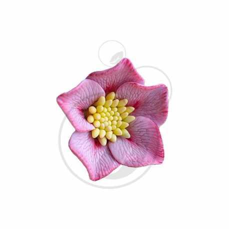 Silikonová forma na mýdlo květ VIII.