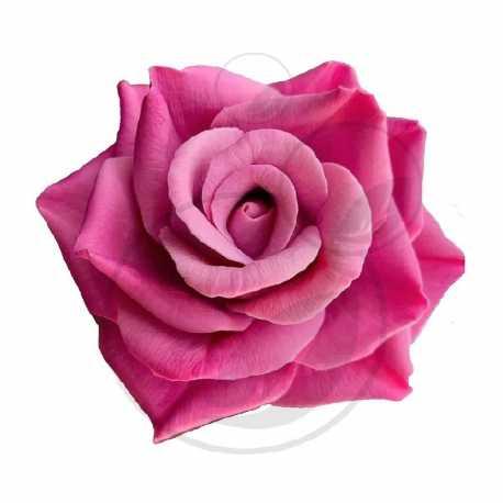 Silikonová forma na mýdlo a svíčku 3D růže XXII.