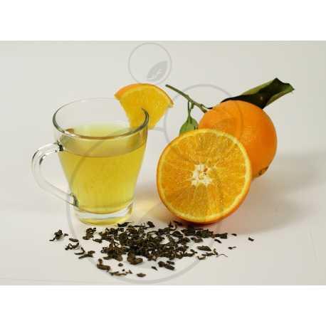 Zelený čaj s pomerančem - parfémová kompozice 10ml