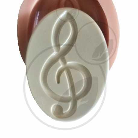Silikonová forma na mýdlo klavír