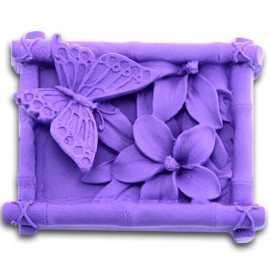 Silikonová forma na mýdlo motýl