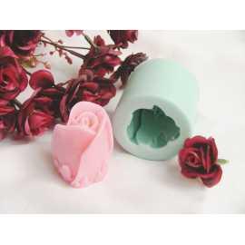 Silikonová forma na mýdlo a svíčku růže