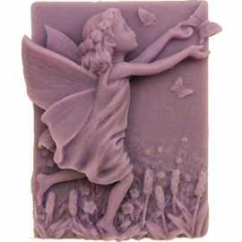 Silikonová forma na mýdlo víla s motýlem