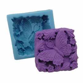 Silikonová forma na mýdlo motýl II.